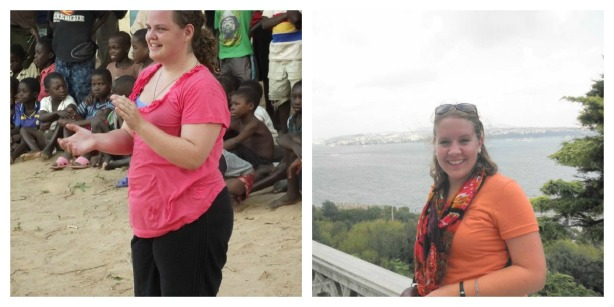Abbie in Malawi, and Emilie in Istanbul