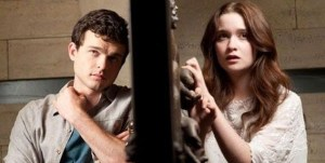 Ethan and Lena, as depicted in the upcoming Beautiful Creatures film.