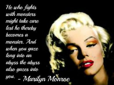 Thus Sprach Marilyn.