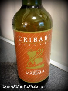 My go-to Marsala wine.